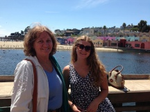 Me and Emily visiting in Capitola