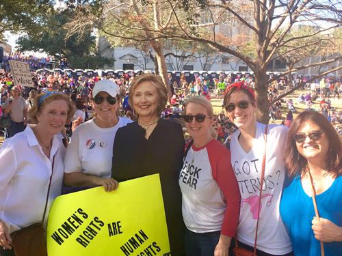 Barbara Austin marches in her namesake city Austin, Texas