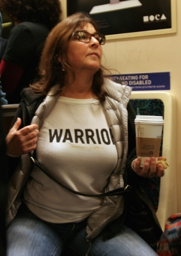 Warrior Woman!