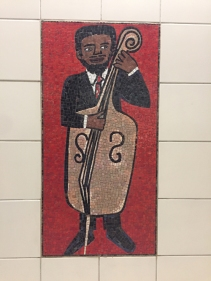 Great mosaic in the station