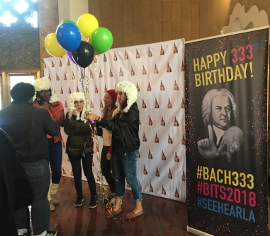 Really fun Bach Birthday Party